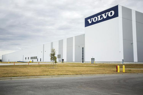 Volvo to build Charleston-area battery plant to power SC-made vehicles